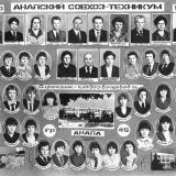 Анапа. Анапский совхоз-техникум, 1984 год