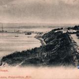 Анапа. Вид с высокого берега на порт, до 1917 года