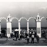 Анапа. Вход на городской пляж, 1963 год