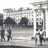 Армавир. Площадь им. В.И. Ленина, 1966 год