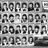 Армавир. СШ №9, 10 Б класс, 1984 год