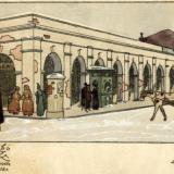 Ейск. Базарный корпус Конеева, до 1917 года