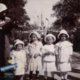 Ейск. День флагов на бульваре, 1914 год