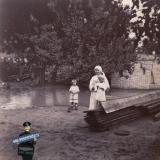 Ейск. Двор у Макининых, около 1914 года