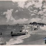 Ейск. Городской пляж, 1965 год