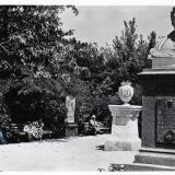 Ейск. Памятник М.И. Калинину, около 1965 года