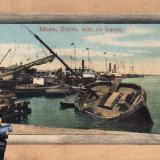 Ейск. Порт, вид с берега, около 1915 года