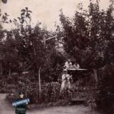 Ейск. В саду у Федюниных, около 1914 года