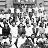 Ейская средняя школа № 1 ,14-й выпуск 10 А класса  1954-1955 годы