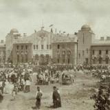 Ейск. Железнодорожный вокзал, около 1912 года