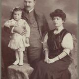 Ейск. Семейный портрет. Фотограф Сергеев М. С.
