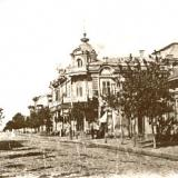 Ейск. Улица Михайловская. 1912 год.