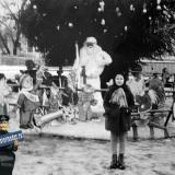 Краснодар. У новогодней ёлки в горпарке, 10 января 1965 года