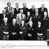 1978 год. КраснодарНИПИнефть. Отдел инженерных изысканий.