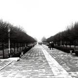 Краснодар. Бульвар на Красной зимой, 1979 год