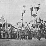 1896 год. Закладка памятника Императрицы Екатерины II в Екатеринодаре