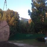 2009. 11 сентября. Перенос обелиска, установленного в честь основания г. Краснодара