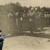 Екатеринодар. 4 августа. Молебен на соборной площади 1918 год.