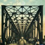 Екатеринодар. Чугунный мост через реку Кубань