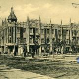 Екатеринодар. Угол улиц Красной и Гимназической, Центральная гостиница, до 1917 года