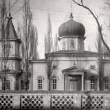 Екатеринодар. Церковь во имя Успения Пресвятой Богородицы на ул. Графской (ныне - Советская).