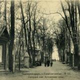 Екатеринодар № 22. Городской сад. Пушкинская аллея