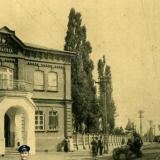 Екатеринодар. Городская больница и памятник 200 л., до 1917 года