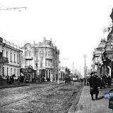 Екатеринодар. Городская управа и угол улиц Красной и Екатерининской