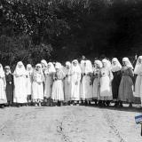 Екатеринодар. Класс русских старшеклассниц, помощниц медсестер больницы американского Красного Креста. 04709