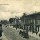 Екатеринодар. Красная улица, вид на юг, до 1917 года