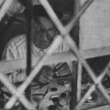 Краснодар. Часовщик за работой, август 1942 год.
