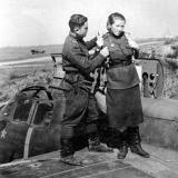 Краснодар. Центральный аэродром, август 1943 год.