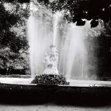 """Краснодар. Фонтан """"Каменный цветок"""" в парке им. Горького. 1978 год."""