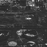 Краснодар. Фото с самолёта разрушенного нефтезавода, август 1942 год.
