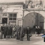 """Краснодар. Вход в кинотеатр """"Великан"""" (Кубань), 1954 год."""