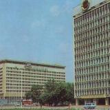 """Краснодар. Гостиница """"Интурист"""", 1985 год"""