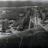 Краснодар. Комсомольский микрорайон. Улица Тюляева. 1984 год.