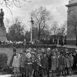 Краснодар. У памятника Ленину у Крайкома КПСС, 1959 год