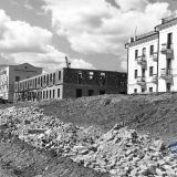 Краснодар. Нефтяной техникум. Улица Насыпная.  1951 год.