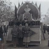 Краснодар. Ноябрьская демонстрация 1960 год. Колонна ЗИПа