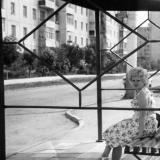 Краснодар. Остановка на улице Игнатова, 1985 год.