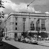 Краснодар. Перекресток улиц Красной и Гоголя. 1952 год.