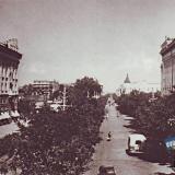 Краснодар. Перекрёсток улиц Красной и Ленина, конец 50-х годов