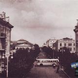 Краснодар. Перекрёсток улиц Красной и Мира. конец 50-х годов.