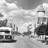 Краснодар. Перекрёсток улиц Сталина и Ворошилова.