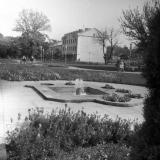 Краснодар. Сквер на улице Тельмана., 1978 год.