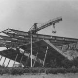 """Краснодар. Строительство кинотеатра """"Аврора"""", 12 мая 1966 года."""
