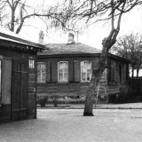 Краснодар. Угол улиц Коммунаров и Комсомольской, вид на север, 1975 год.