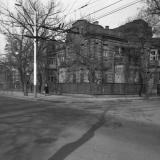 Краснодар. Угол улиц Коммунаров и Пушкина, около 1977 года, вид на северо-восток
