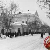 Краснодар. Угол улиц Красной и Длинной, 1962 год, вид на юг